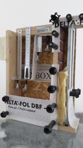 Un système de vissage qui permet de fixer les plaques de parement